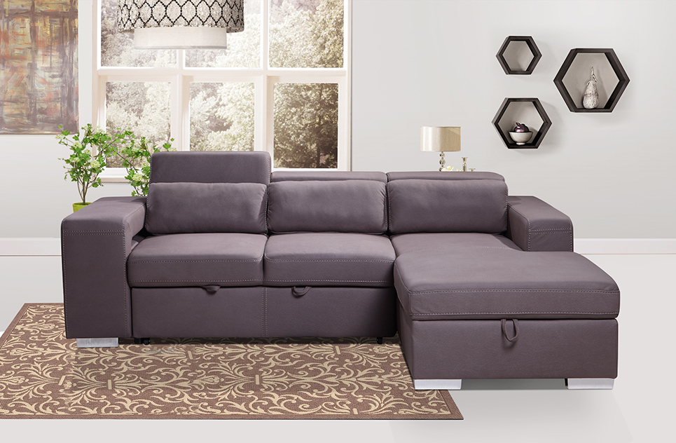 Pasadina Corner Sleeper Couch | Sleeper Couch | Same Day Delivery