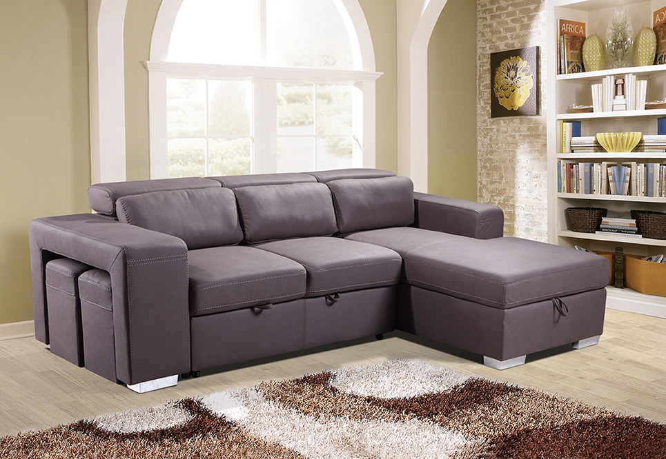 Pasadina Corner Sleeper Couch | Sleeper Couch | Same Day