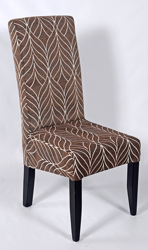 Brown-&-white-Dining-Chair