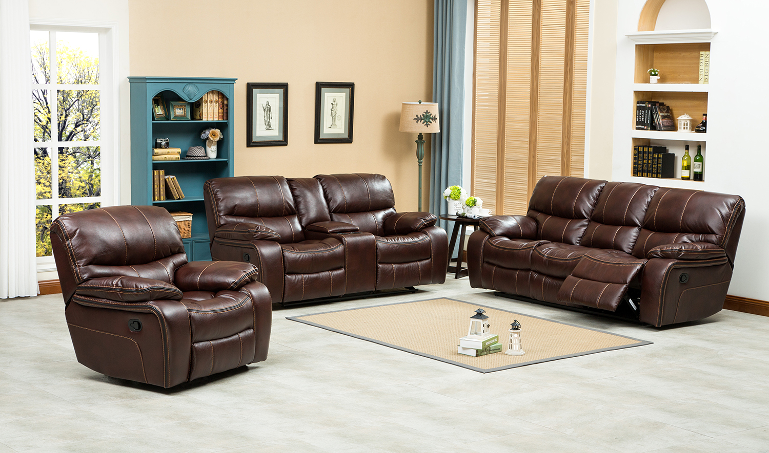 Pensylvania-Recliner-Lounge-Suite ... & Pensylvania Recliner Lounge Suite - Discount Decor - cheap ... islam-shia.org