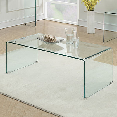 Ghost Glass Coffee Table