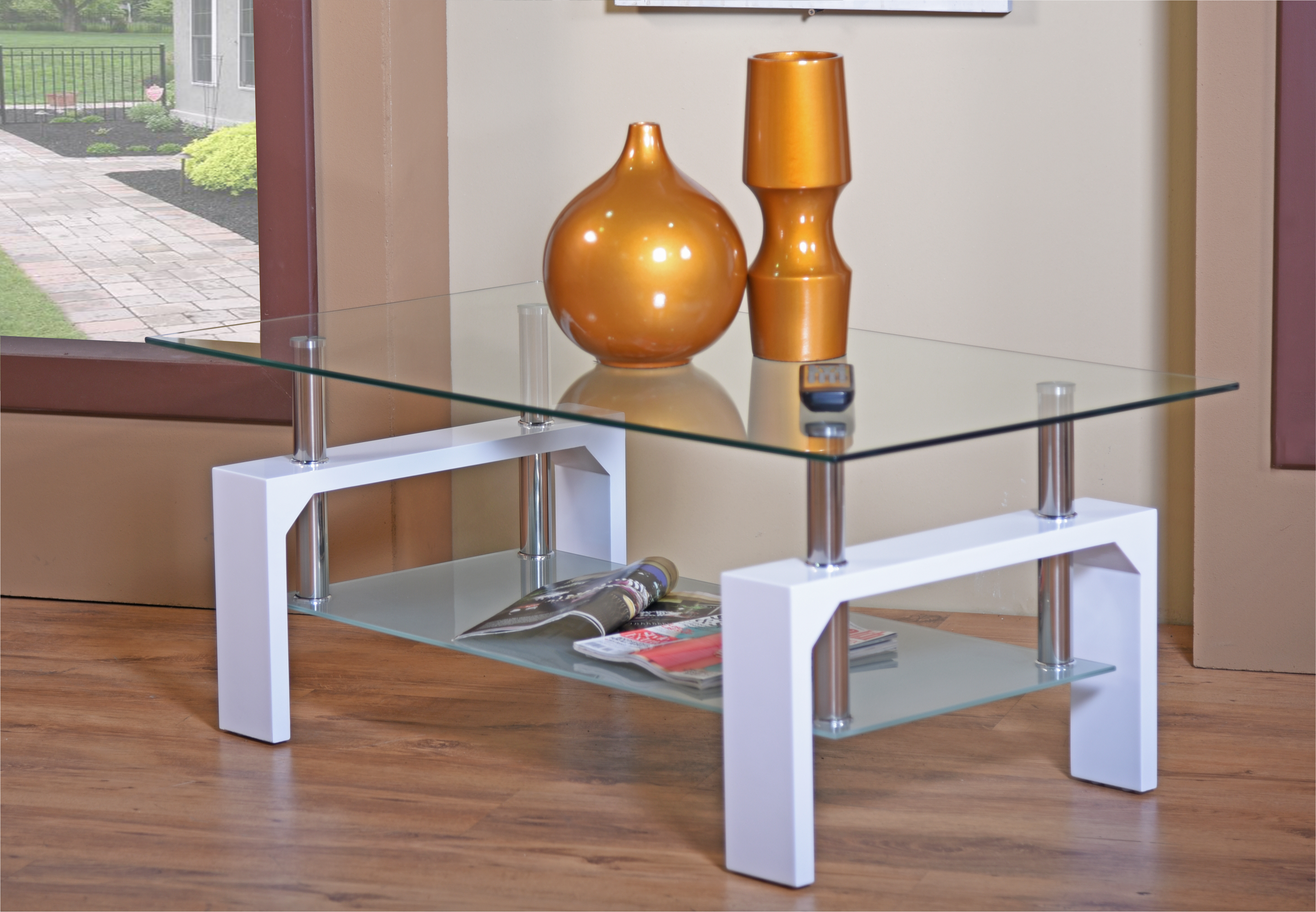 Tables calico coffee table glass yes 1 year was sold for Yes decoration