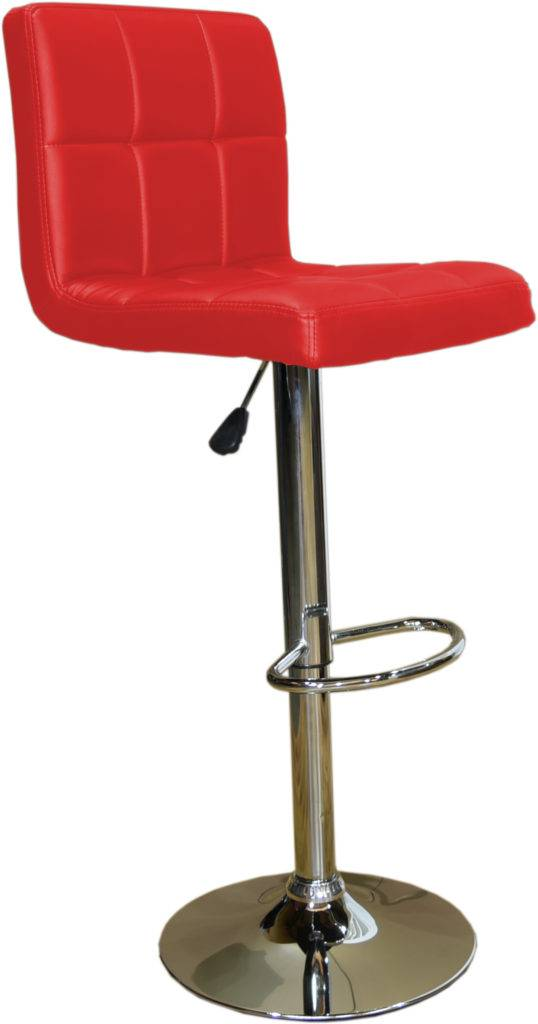 628 Bar stool DEA085 red