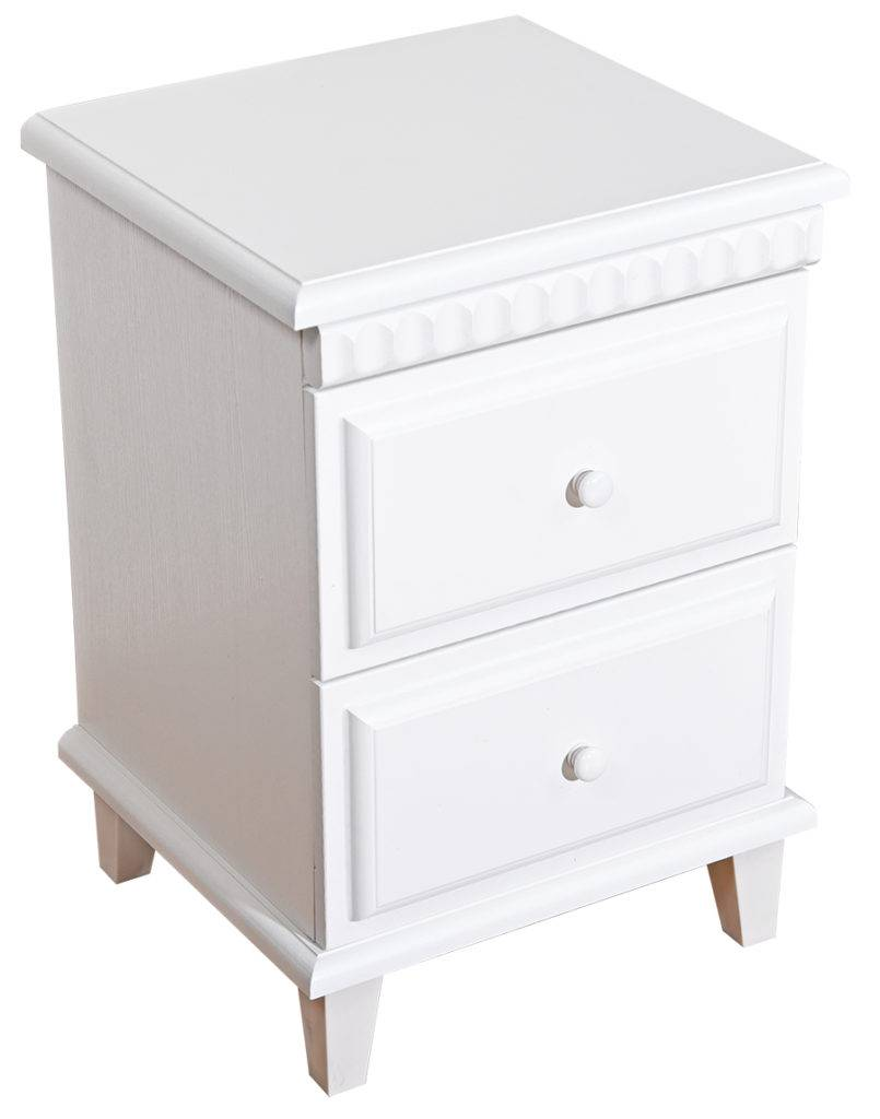 Polo pedestal 2 drawer pedestal cheap side table for Inexpensive end tables