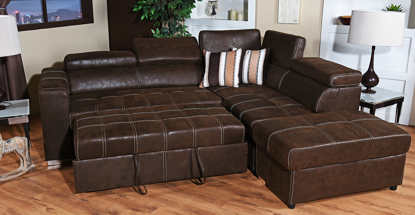 Dallas Corner Sleeper Couch