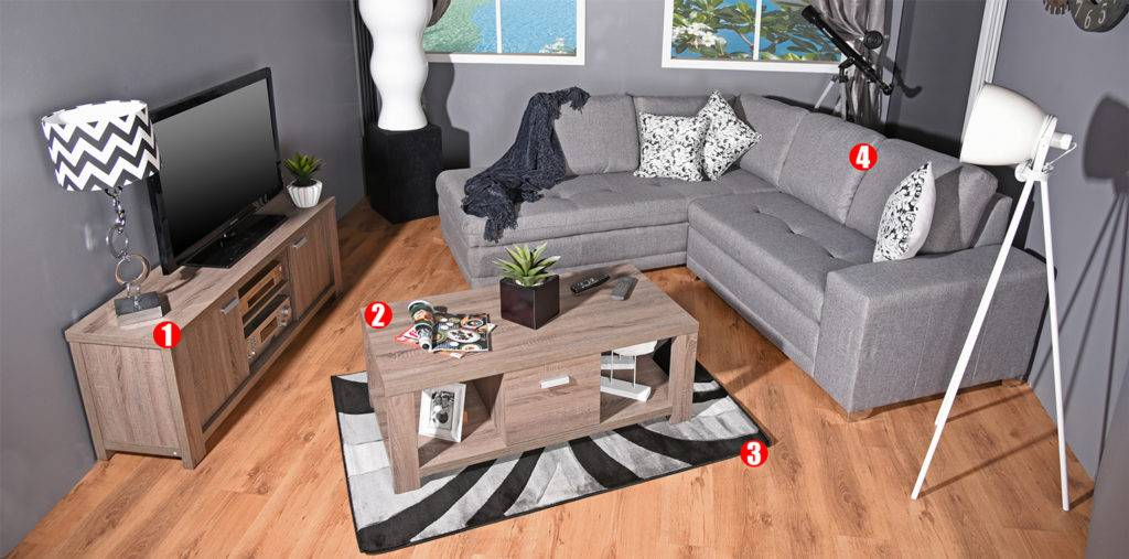 Loft Package Deal Complete Living Room For Only R11 999