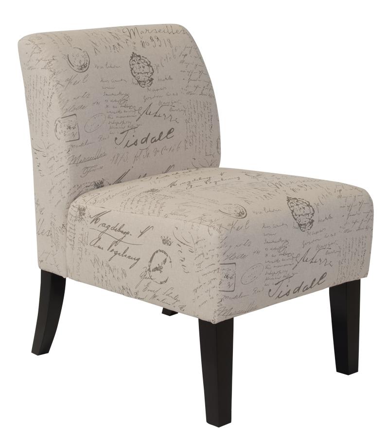 Luke Accent Chair Fabric 1 Discount Decor Cheap
