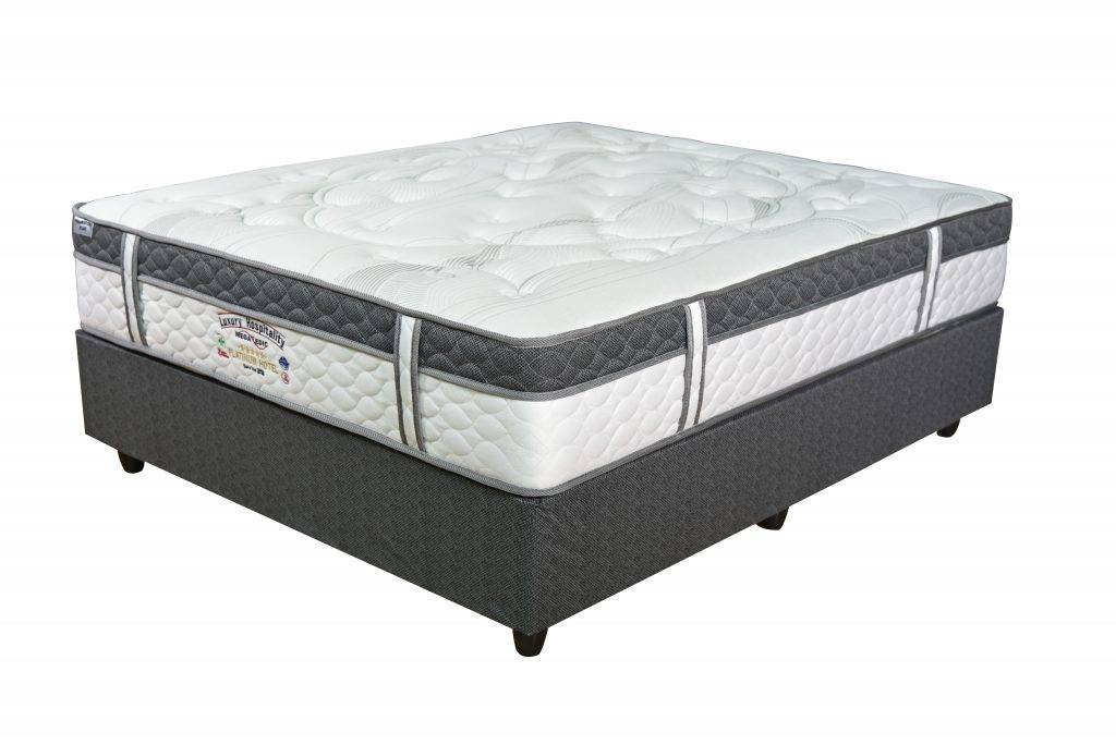 Megapedic Platinum 5 Star Mattress and Base set deep