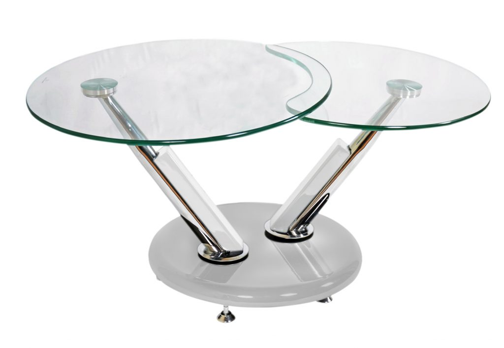 Jupiter Glass Swivel Coffee Table Swivel Coffee Table Modern Coffee Table