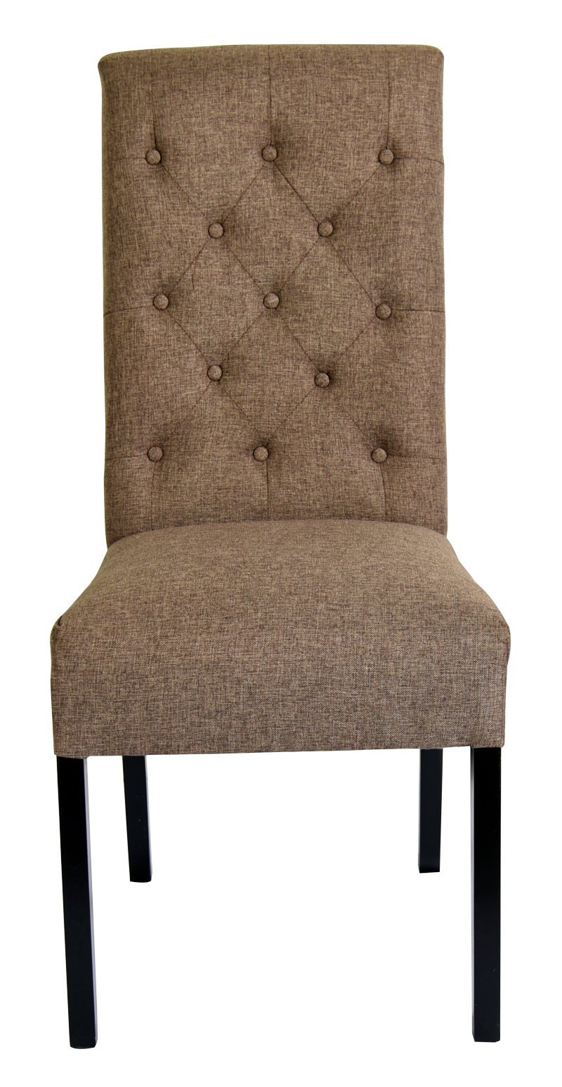 Melia tufted dining chair dining chair for sale button tufted dining chair - Tufted dining room chairs ...