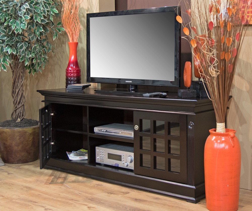 brazilian plasma tv stand  wooden plasma tv stand  wall unit - quick view