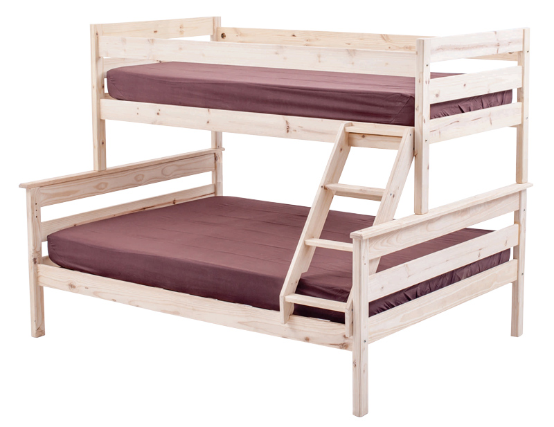 Canterbury Tri Bunk Bed Bunk Bed For Sale Double Bunk Pine
