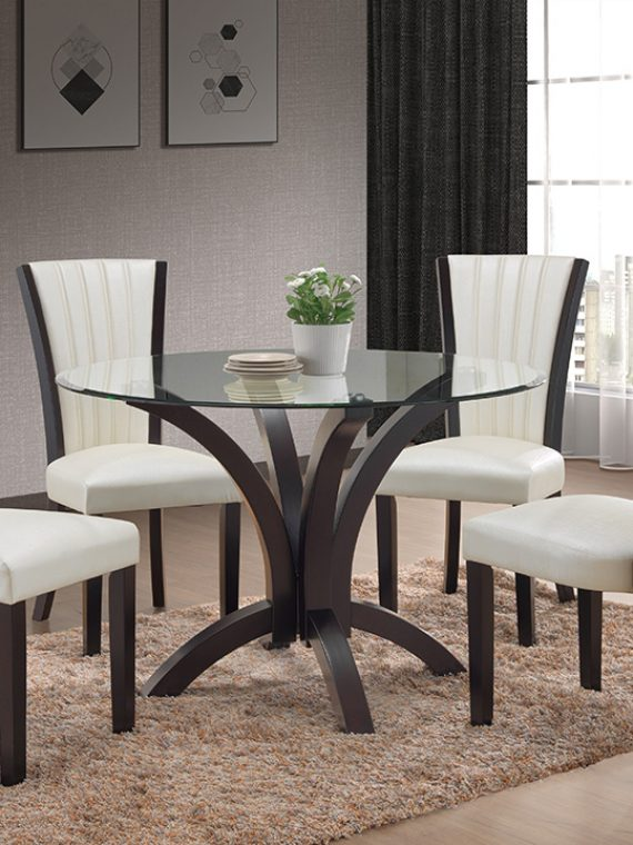 hill furniture rooms collections rectangle chrs pc hillcreek dining rm creek sets n dr black room suites
