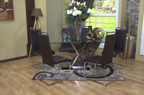 Brown Dining Suite Lifestyle 5 ...