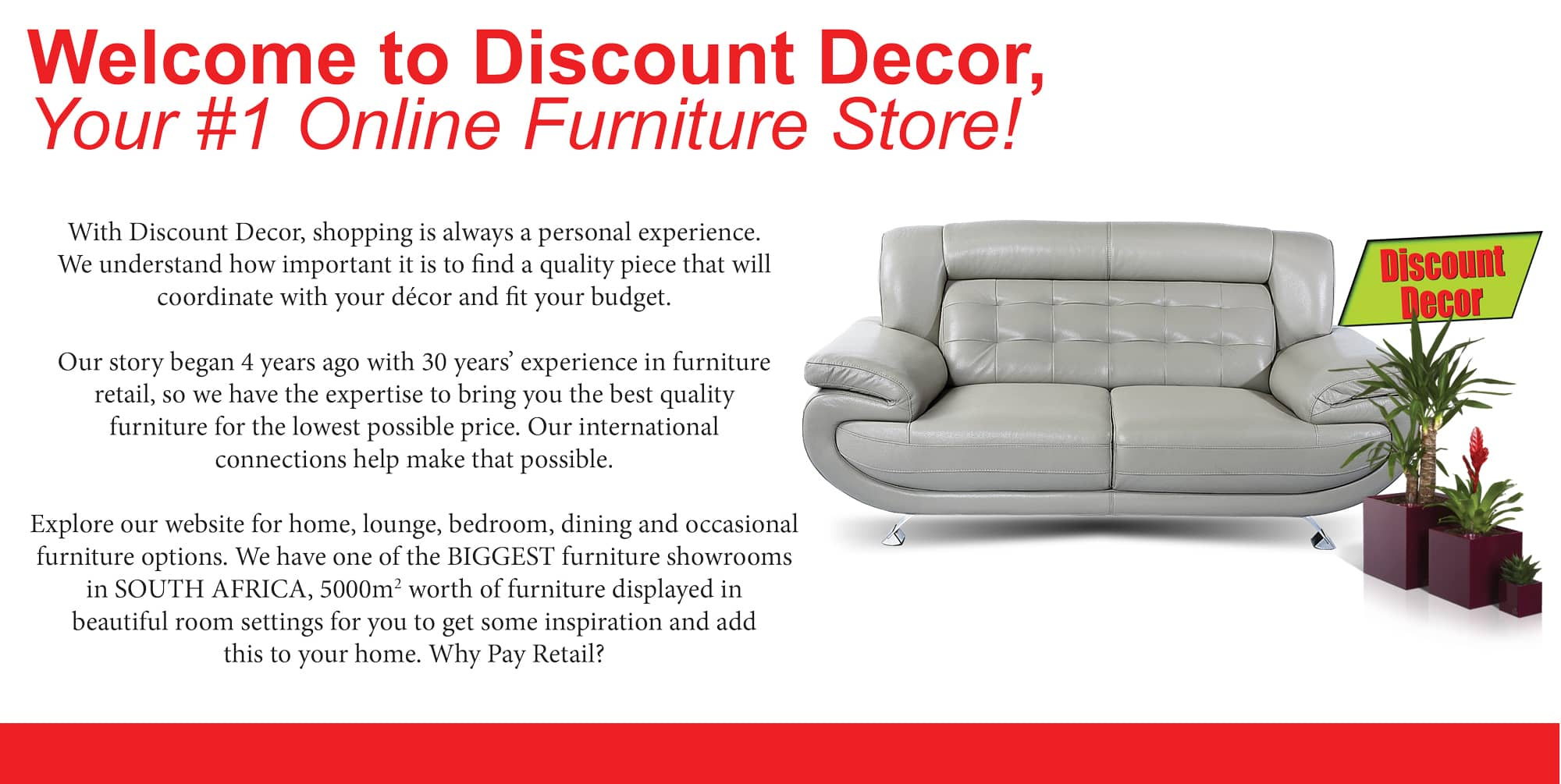 Discount decor cheap mattresses affordable lounge for Cheap designer furniture johannesburg