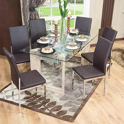 Angal Dining Suite 7 Piece