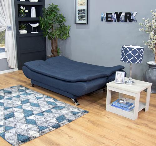 Booysen Sleeper Couch Blue (4)