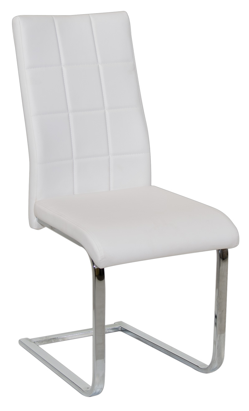 612 White Dining Chair Dining Chair Wooden Dining Chair