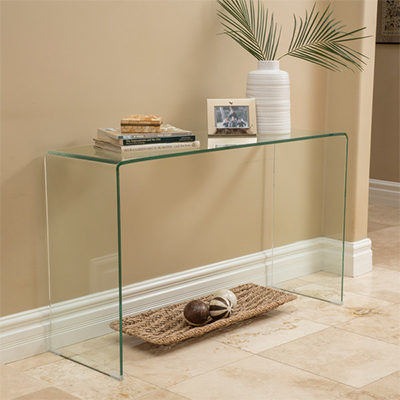 Ghost Glass Server Table