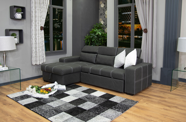 Remarkable Francois Corner Sleeper Couch Dailytribune Chair Design For Home Dailytribuneorg