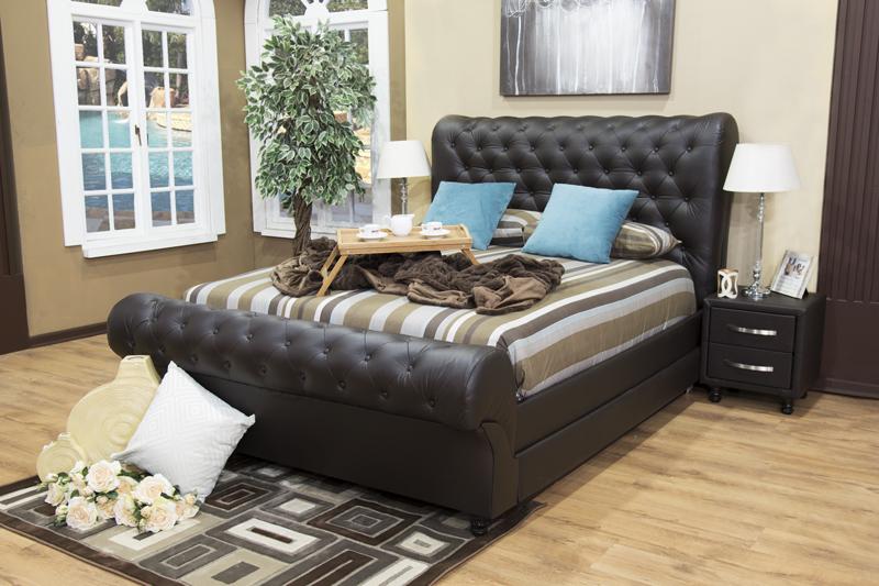 Dafana Bed Sleigh Bedroom Set Upholstered Bedroom Set
