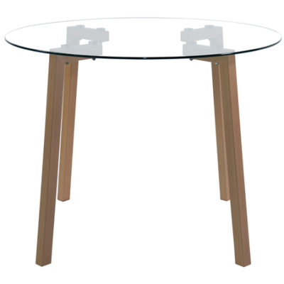 Sally Round Glass Table
