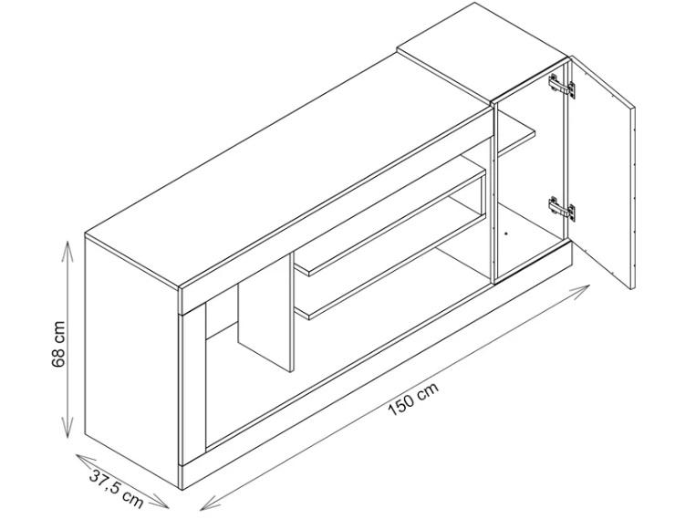 Goya TV Stand