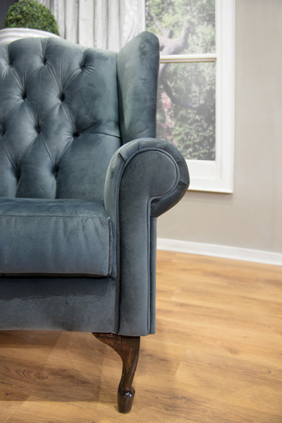 Wingback Chair Chesterfield (10)
