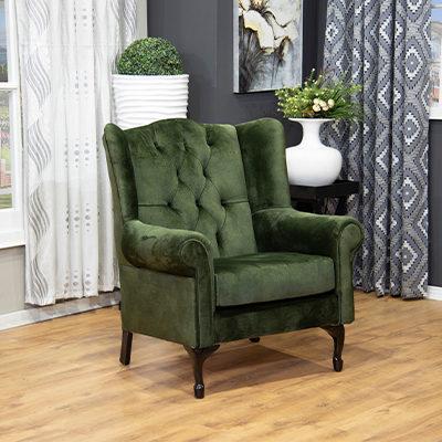 Wingback Chair Chesterfield