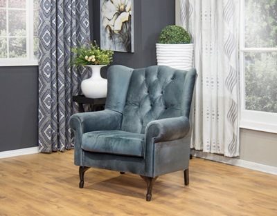 Wingback Chair Chesterfield (7)