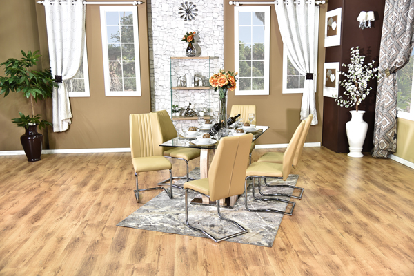 California Dining Suite brown (3)
