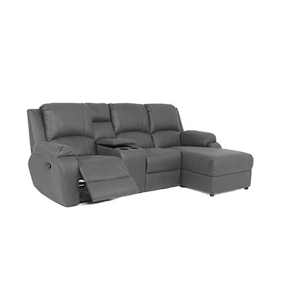 Lyla 1 Action Recliner with Chaise & Console