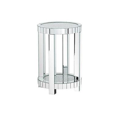 Diamond Swiss Mirror Side Table