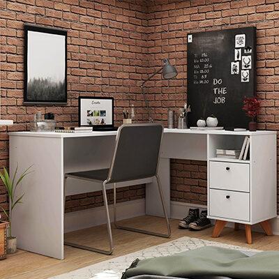 Havana Office L-Shaped Desk