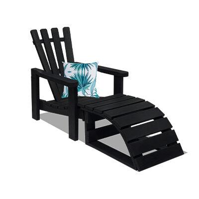 Adiron Garden Chair with footrest