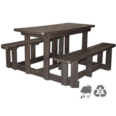 Picnic Table & Bench 4 seater